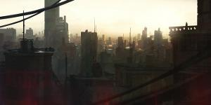 City at Dawn by Stephane Belin