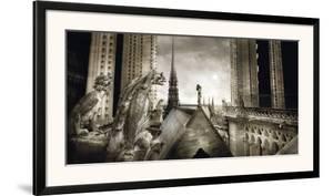 Gargouilles de Notre Dame, Paris by Stephane Rey-Gorrez