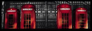 Red Telephone Boxes, London by Stephane Rey-Gorrez