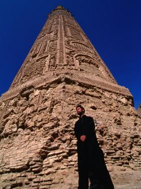 12th Century Minaret-E-Jam, the World's Second Tallest Minaret, Afghanistan by Stephane Victor