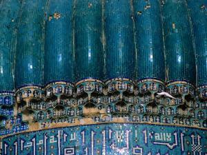 Detail of 15th Century Shrine of Khwaja Abu Nasr Parsa, Afghanistan by Stephane Victor