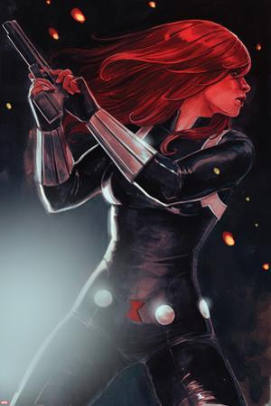 Black Widow No. 1 Cover by Stephanie Hans