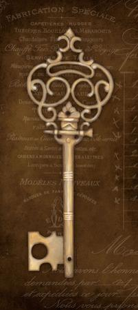 Antique Key II by Stephanie Marrott