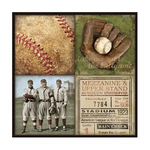 Baseball 4 Patch by Stephanie Marrott