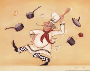 Dancing Chef by Stephanie Marrott