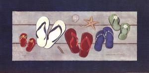 Family Flip Flops by Stephanie Marrott