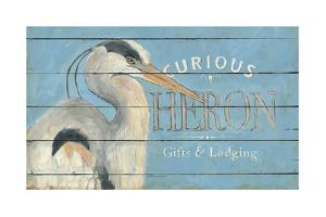 Heron Blue by Stephanie Marrott