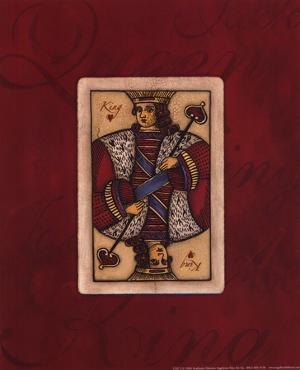 King - red by Stephanie Marrott