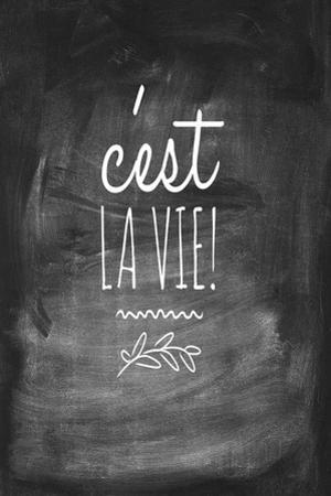 Chalk Type - La Vie by Stephanie Monahan