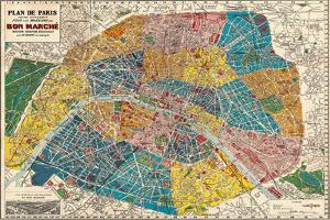 Plane de Paris by Stephanie Monahan