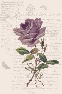 Vintage Flower I by Stephanie Monahan