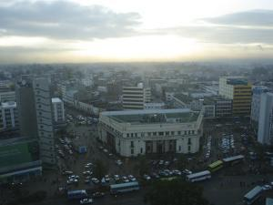 A View of Nairobi is Shown from the Hilton Hotel by Stephen Alvarez
