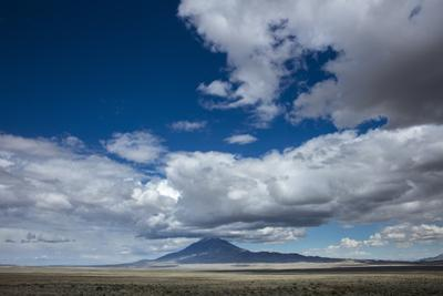 Clouds and Big Sky in the Mountain Landscape of the West by Stephen Alvarez
