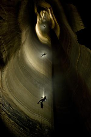 Fantastic Pit Is the Deepest Free Fall Cave Pit in the U.S. by Stephen Alvarez