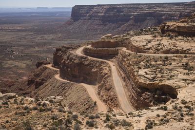 The Moki Dougway, a Harrowing Single Lane Dirt Road in Bears Ears National Monument by Stephen Alvarez