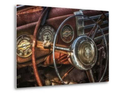 Old Buick Eight Dashboard by Stephen Arens