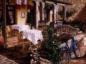 Blue Bicycle by Stephen Bergstrom