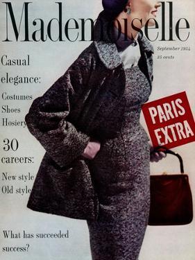 Mademoiselle Cover - September 1954 by Stephen Colhoun