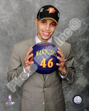Stephen Curry 2009 NBA Draft #7 Pick