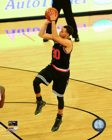 Stephen Curry 2015 NBA All-Star Game Action