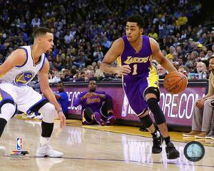 Stephen Curry & D'Angelo Russell 2015-16 Action