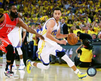 Stephen Curry Dribbling from Game 5 of the 2015 Conference Finals