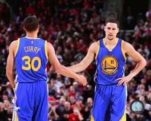 Stephen Curry & Klay Thompson 2014-15 Action