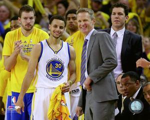 Stephen Curry & Steve Kerr 2015