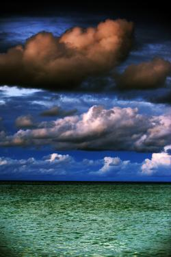 Puffy clouds over the Sulu Sea, The Philippines by Stephen Datnoff