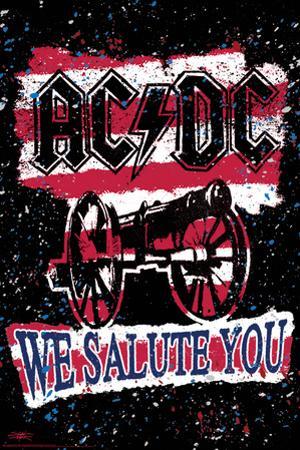 Stephen Fishwick: AC/DC- We Salute You Striped by Stephen Fishwick