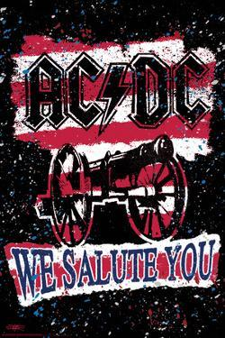 Stephen Fishwick: AC/DC- We Salute You Striped by Stephen Fishwick