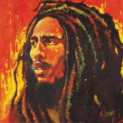Stephen Fishwick- Bob Marley by Stephen Fishwick