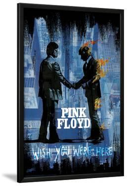 Stephen Fishwick: Pink Floyd- Wish You Were Here Distressed by Stephen Fishwick