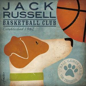 Jack Russell Basketball by Stephen Fowler