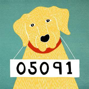 Bad Dog 05091 Yellow by Stephen Huneck