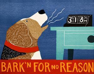 Barkin For No Reason Beagle by Stephen Huneck