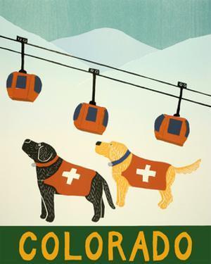 Colorado Ski Patrol by Stephen Huneck