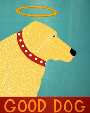 Good Dog Yellow by Stephen Huneck
