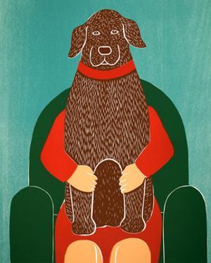 Lap Dog Choc by Stephen Huneck
