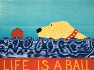 Life Is A Ball Yell by Stephen Huneck