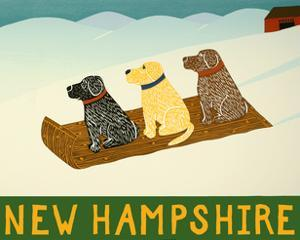 New Hampshire Sled Dogs by Stephen Huneck