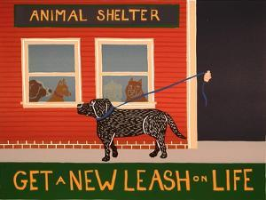 New Leash On Life Animal Shelter by Stephen Huneck