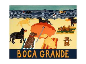 Ocean Ave Boca Grande by Stephen Huneck