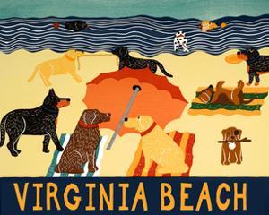 Ocean Ave Virginia Beach by Stephen Huneck