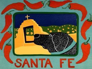 Santa Fe Black by Stephen Huneck