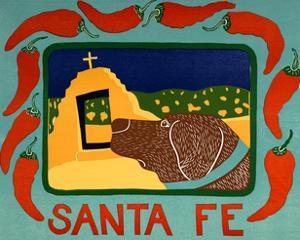 Santa Fe Choc by Stephen Huneck