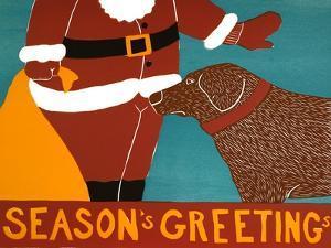 Seasons Greetings Choc by Stephen Huneck