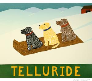 Telluride Sled Dogs by Stephen Huneck