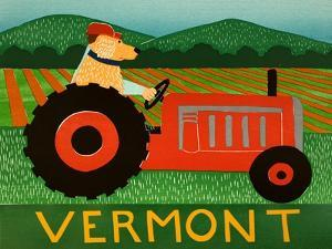 The Tractor Vermont by Stephen Huneck