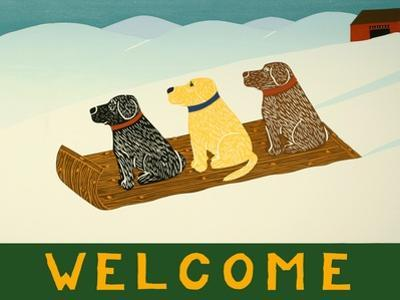 Welcome Sled Dogs